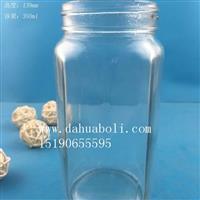 徐州生产350ml食品蜂蜜玻璃瓶