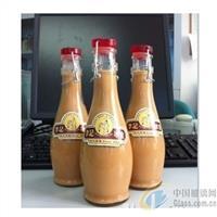 350大肚蜂蜜卡扣饮料瓶玻璃奶瓶