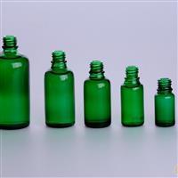 绿色瓶、精油瓶、化妆品瓶