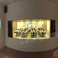 江玻录播教室玻璃 微格教室玻璃 单向玻璃