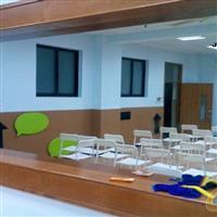 北京学校录播教室玻璃 微格教室玻璃 单向玻璃
