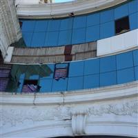 珠海高空更换玻璃/珠海香洲维修玻璃/珠海幕墙维修