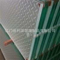 防滑玻璃 凹凸纹理玻璃 楼梯踩踏 厂