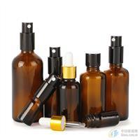 避光玻璃按压瓶精油瓶喷雾瓶细雾乳液香水分装瓶厂