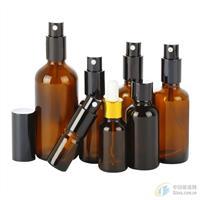 避光玻璃按压瓶精油瓶喷雾瓶细雾乳液香水分装瓶