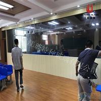 课堂观摩室单向镜 监控室单面可视玻璃
