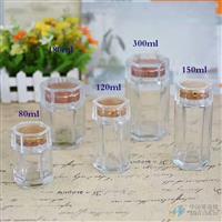 燕窝瓶,六棱玻璃瓶,高白料玻璃瓶厂