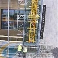 广州幕墙玻璃安装加固/租用电动吊蓝