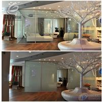 银行酒店办公室专项使用电控调光玻璃 驰金玻璃厂家供应