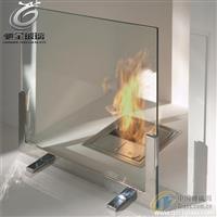 壁炉观火视窗专用耐高温玻璃 耐高温微晶玻璃厂家
