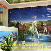 哈尔滨5D视觉玻璃浮雕画uv打印机厂