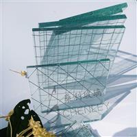 夹丝玻璃夹铁丝玻璃