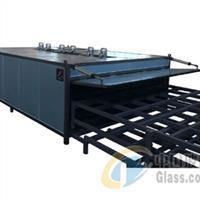 弯钢夹胶炉 夹胶玻璃设备夹层玻璃设备山东华跃厂