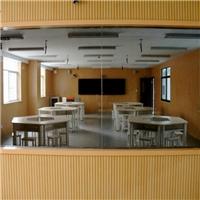 强烈推荐 大学录播教室玻璃 微格教室单向可视玻璃