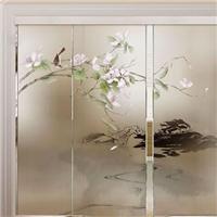 泸州钢化玻璃压花艺术玻璃