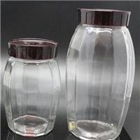 供应家居玻璃罐,卡扣玻璃罐,杂粮储藏罐