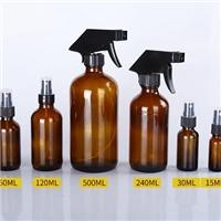 供应15ml-500ml茶色喷头瓶