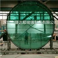 超大中空玻璃钢化圆