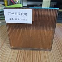 条纹夹胶玻璃 条纹茶色玻璃,广州市同民玻璃有限公司,装饰玻璃,发货区:广东 广州 白云区,有效期至:2019-12-18, 最小起订:5,产品型号: