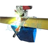 多功能立式中空装饰条切割铣槽机