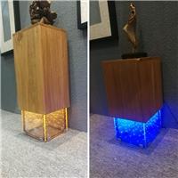LED发光装饰玻璃 灯箱、灯柱 厂家供应厂