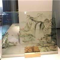 山水画调光玻璃 图案可选 广州汇驰厂家厂