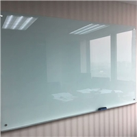 厂家热销玻璃白板北京磁性玻璃白板钢化烤漆玻璃板厂家