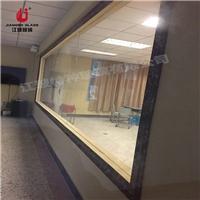12mm录播教室单向玻璃 微格教室单反可视玻璃厂