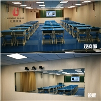 12mm录播教室单向玻璃 微格教室单反可视玻璃