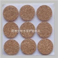 陕西玻璃软木垫 背胶软木保护垫厂家生产