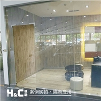 广州汽车4S店调光玻璃 汇驰智能雾化玻璃