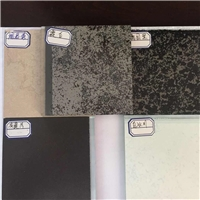 彩釉钢化玻璃厂家成批出售直销专业高温彩轴岩石玻璃