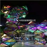 幻彩玻璃 变色炫彩玻璃 广州同民