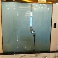 分区调光玻璃隔断 广东雾化玻璃(图)