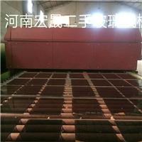 出售上海北玻纯平无斑水平钢化炉一台