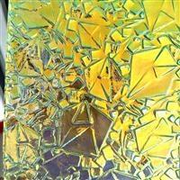七彩压花玻璃