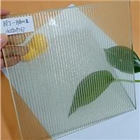 夹丝玻璃厂家 隔断 工程装饰玻璃