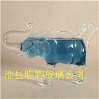厂家批发工艺酒瓶大象玻璃酒瓶