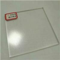 广州富业金晶超白防眩压花玻璃供应