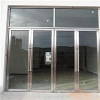 太原安装钢化玻璃门 维修地弹簧玻璃门