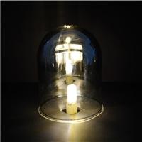 玻璃灯罩120x160圆头吊钟烟灰色