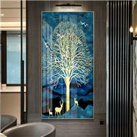 抽象装饰画简约现代玄关画北欧墙画过道画