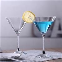 鸡尾酒杯家用商用饮料玻璃杯可做礼品
