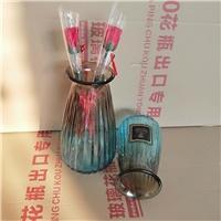 竖棱花瓶玻璃瓶