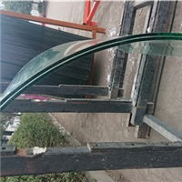 江苏徐州供应弯钢夹胶玻璃