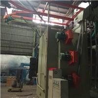 不锈钢焊渣处理喷砂机高明吊钩式抛丸机