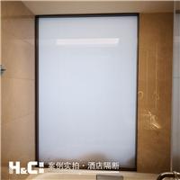雾化玻璃 南宁会展中心酒店调光玻璃厂