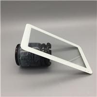 丝印玻璃/东莞丝印面板玻璃/2-4mm白色丝印显示器玻璃