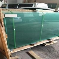 踏板防滑玻璃 圆点防滑玻璃10+10厘钢化厂