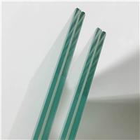 专业生产高透光超白钢化玻璃厂家切割磨边定制生产